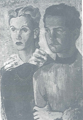El retrato de Elena y Octavio