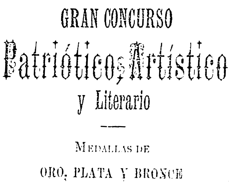 Gran concurso patriótico, artístico y literario