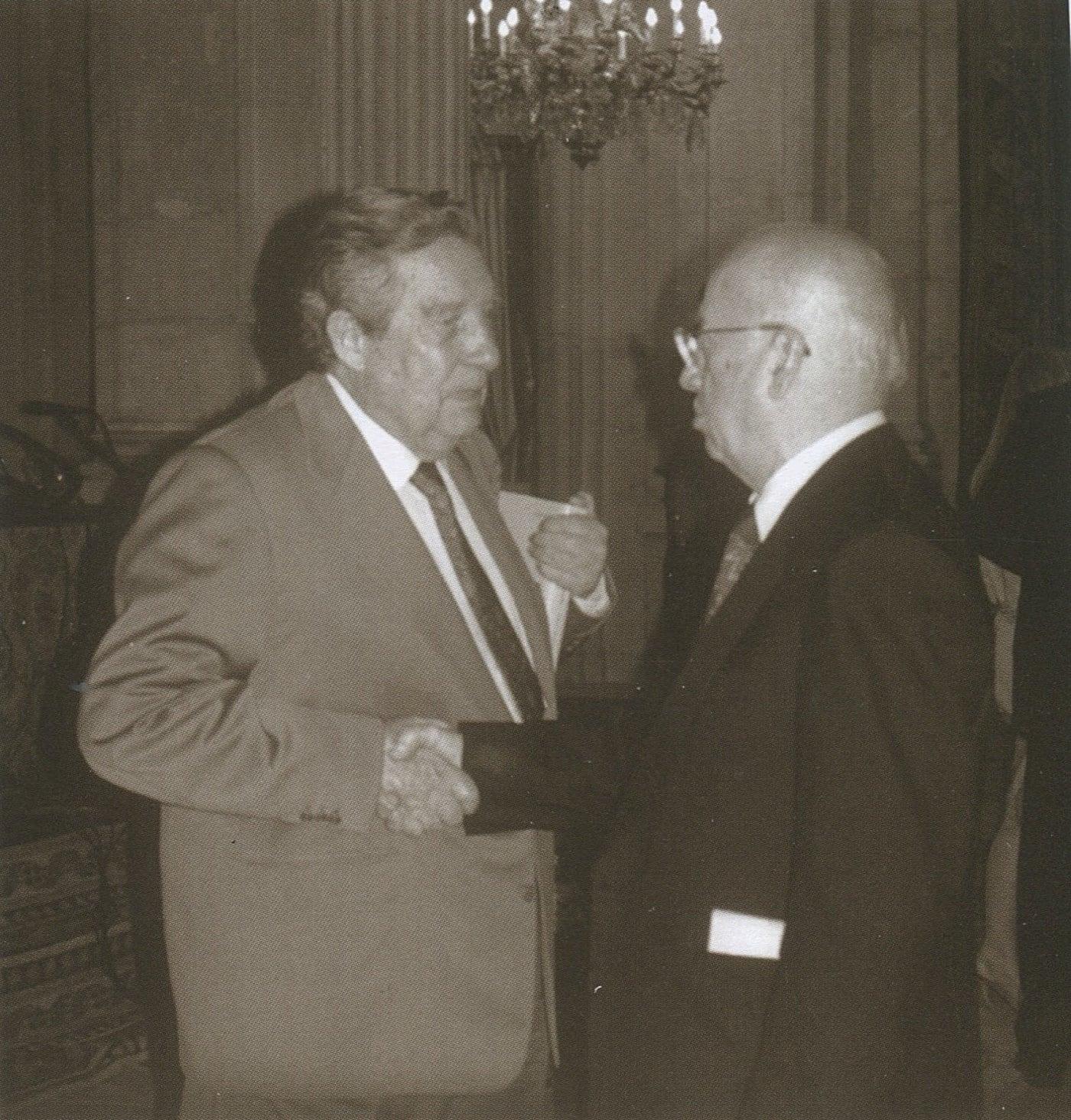 paz y gonzalo rojas   palacio real de madrid 1991 - Poesia Online