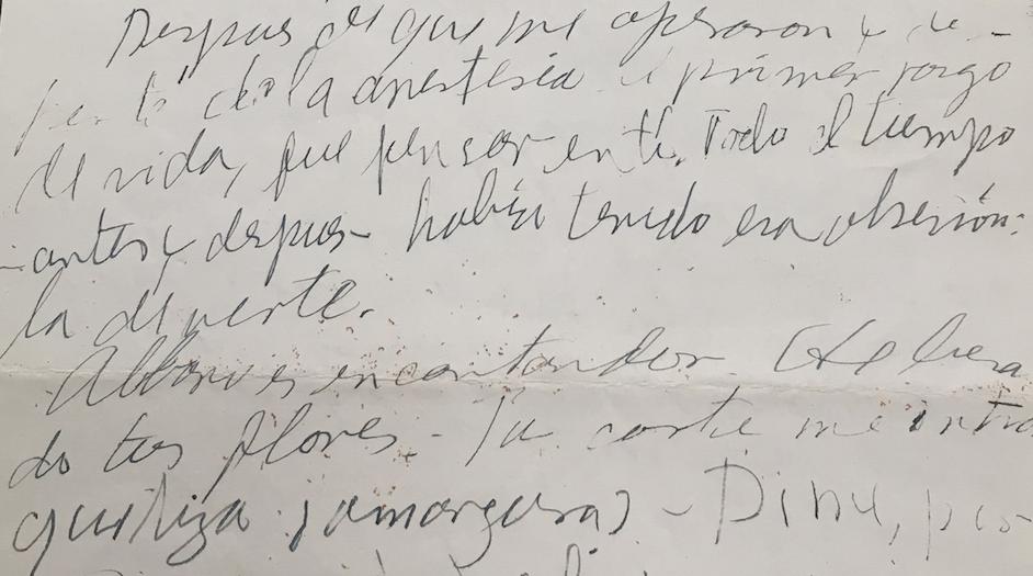 Las cartas a Elena Garro. Sexta entrega
